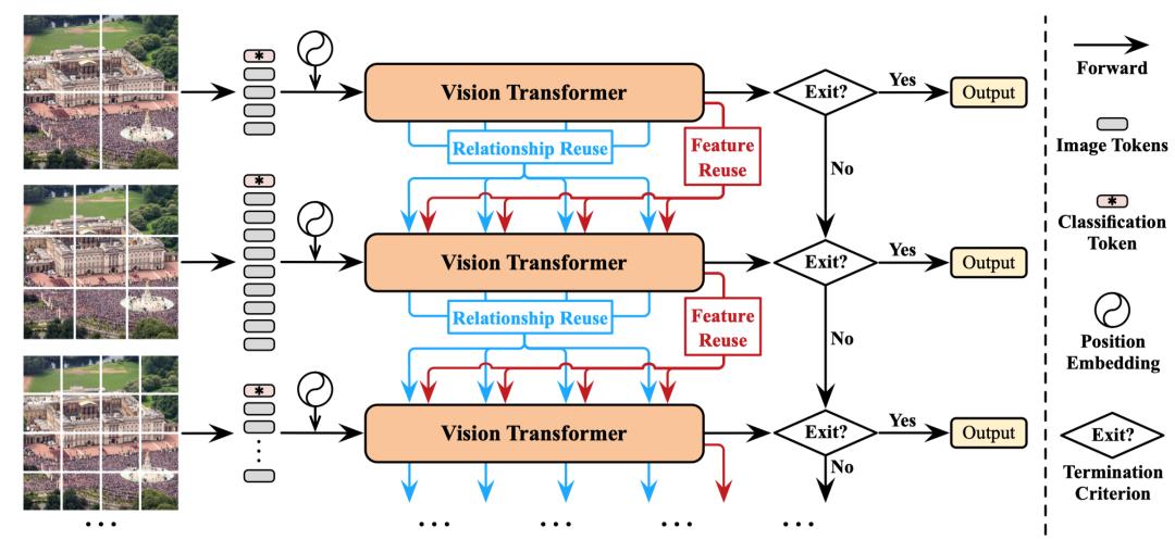 图4 Dynamic Vision Transformer(DVT)