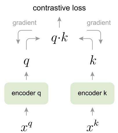 图6:原始的端到端自监督学习方法