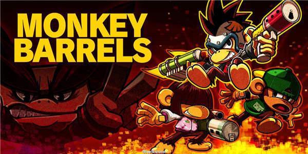 猴子桶战 Monkey Barrels