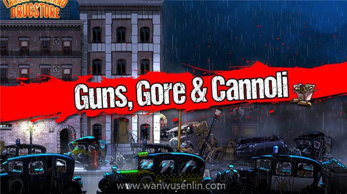 【XCI】枪,血,意大利黑手党 2.Guns Gore and Cannoli 2 中文整合