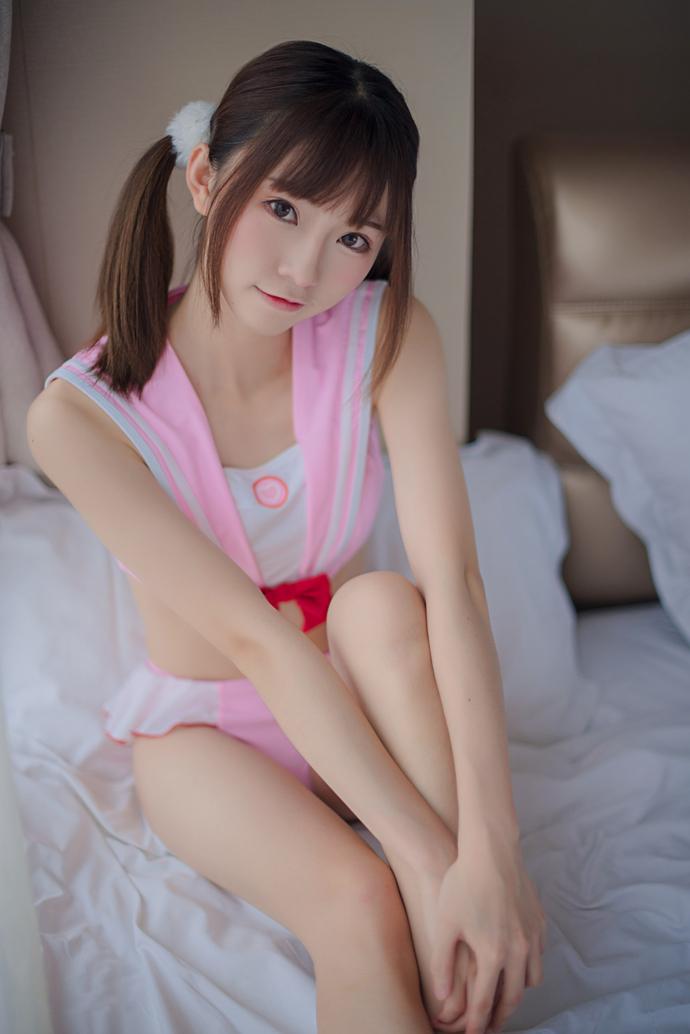 Kitaro_绮太郎 47套写真图片打包下载 粉色单马尾 8.95GB