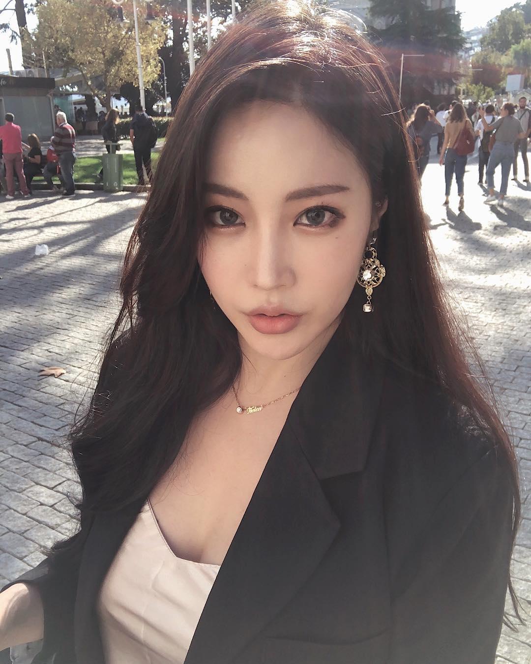 丁悦儿禹娥英的微胖风情 _美女福利图片