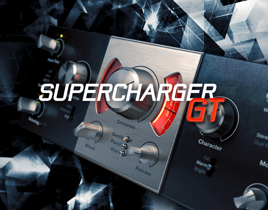 Native Instruments Gt Supercharger 1.3.1 破解版 – 仿真电子管压缩器