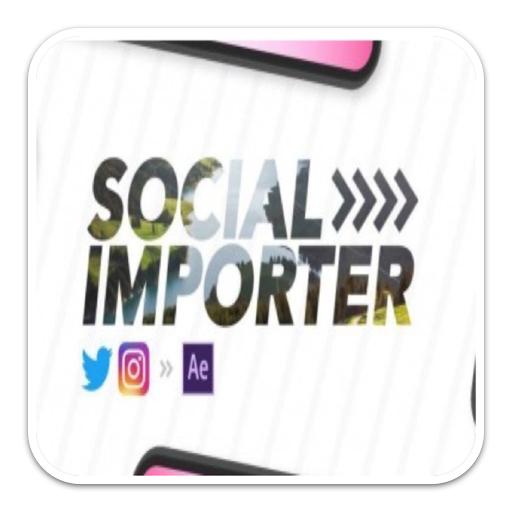 Social Importer 1.0.3 破解版 – Instagram和Twitter内容直接导入ae插件