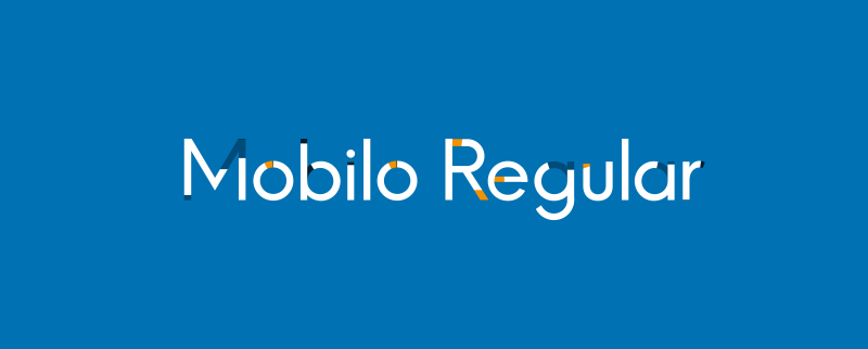 Mobilo Regular – Animated Typeface 1.2 破解版 – AE字体插件