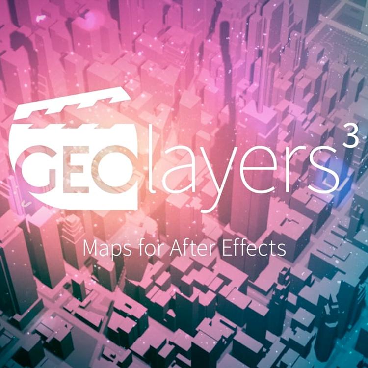 GEOlayers 3 1.0.0.219 破解版 – 真实地图路径绘制AE插件