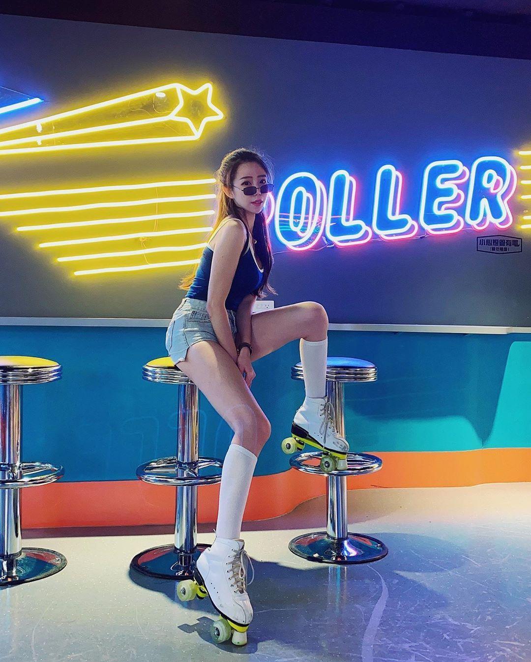 极品模特「翁妤菲Fifi」猖狂曲线性感展延,「水蛇、搭长腿」太躁动!-新图包