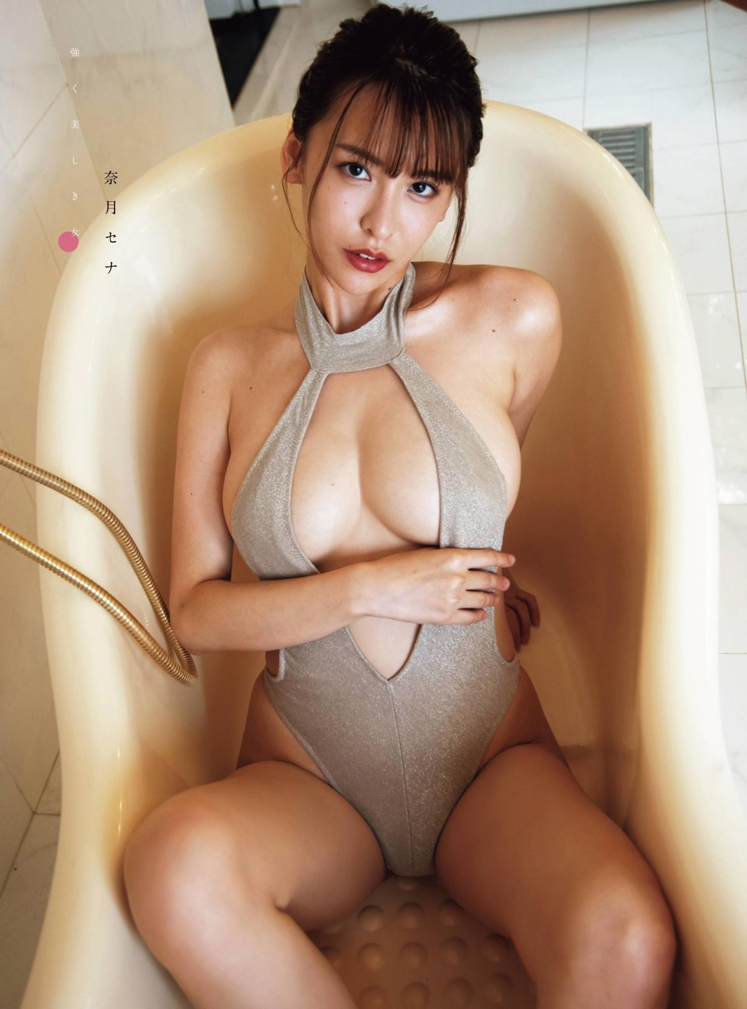 九头身日本甜姐儿奈月Sena性感比基尼美照 福利吧 热图4
