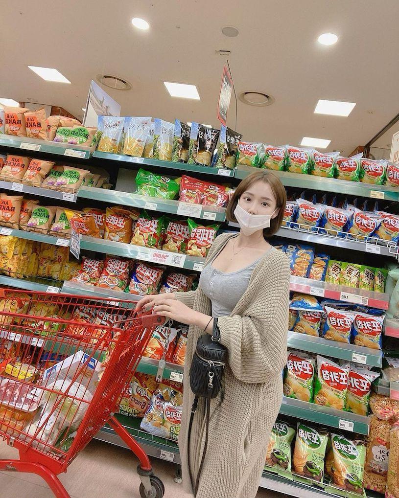 南韩牛奶妹妹우유씨胸前两颗车头灯太亮眼 福利吧 热图3