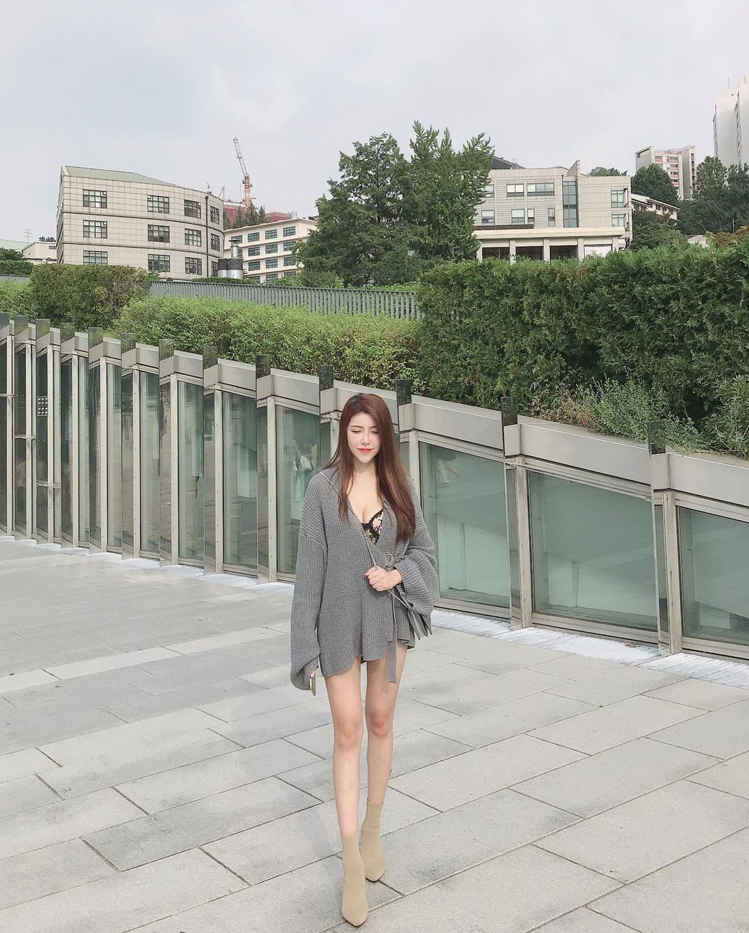 马来西亚的网红娜娜Hannah 回头率100%的超胸妹子 网络美女 第3张