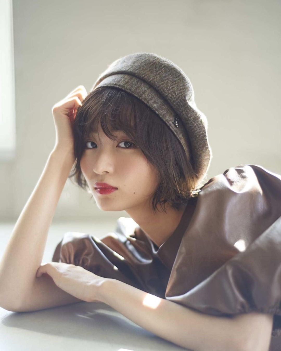 日系时尚杂志模特冈崎纱绘清甜笑容亲和力十足完全就是女友理想型 网络美女 第12张