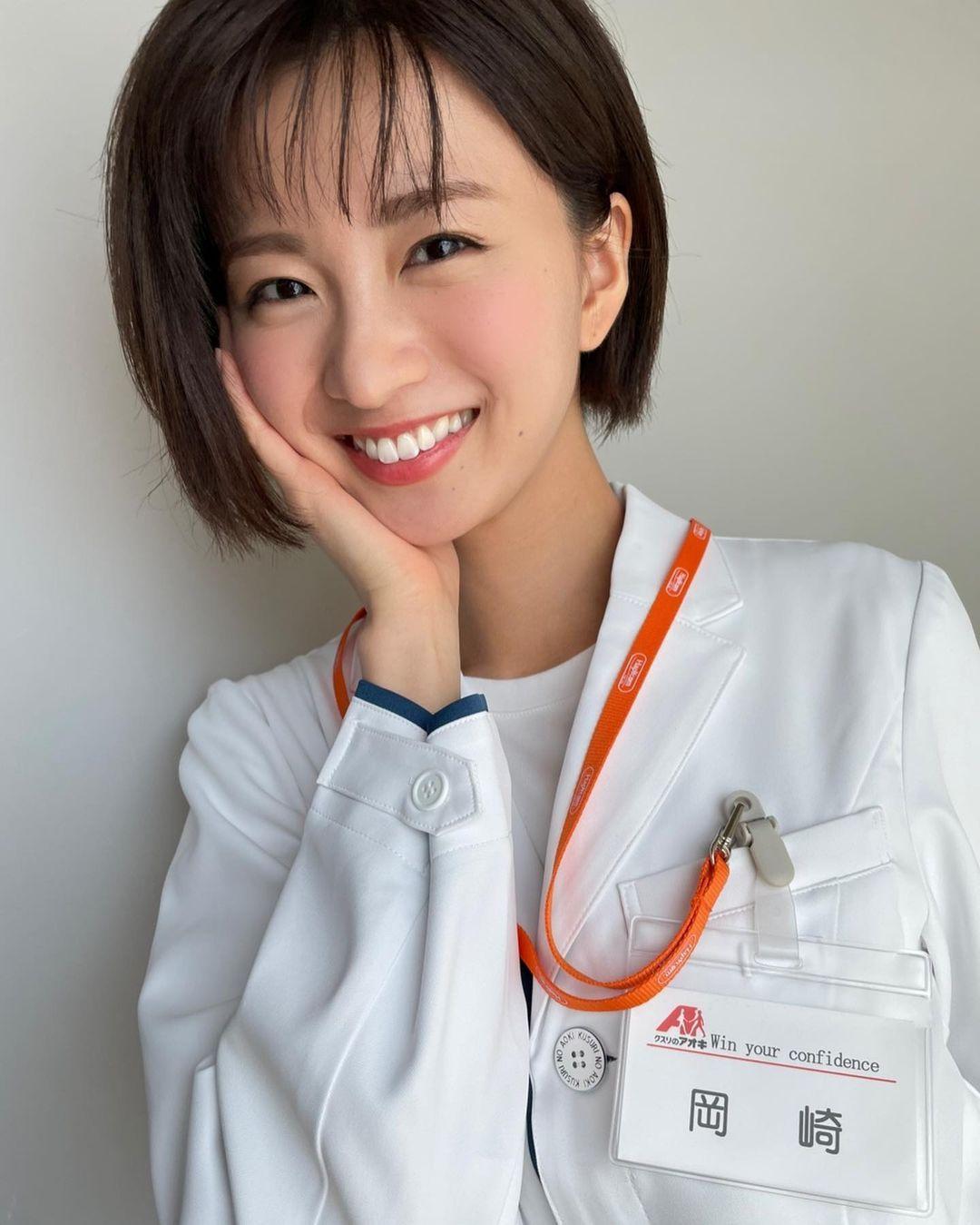 日系时尚杂志模特冈崎纱绘清甜笑容亲和力十足完全就是女友理想型 网络美女 第22张