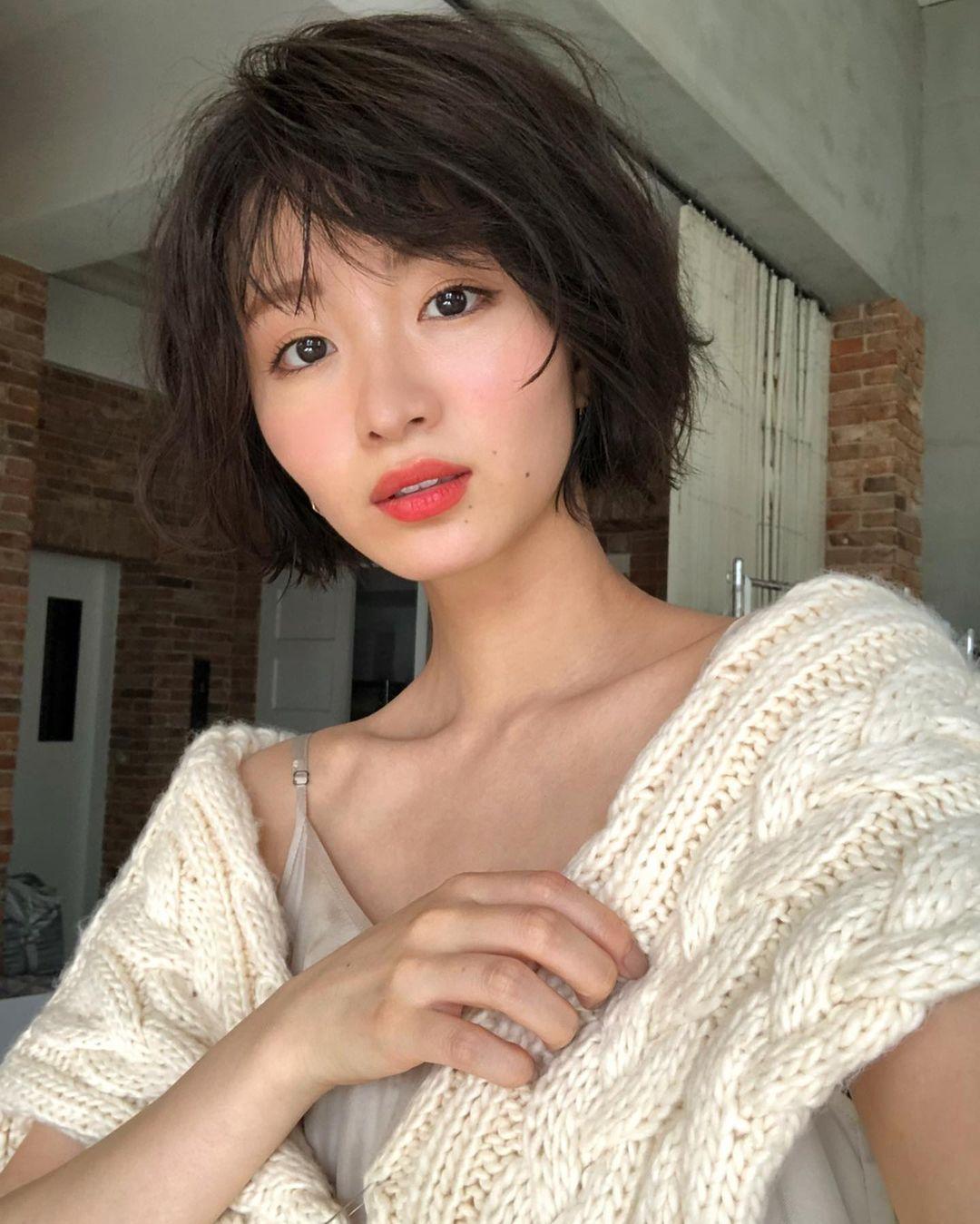 日系时尚杂志模特冈崎纱绘清甜笑容亲和力十足完全就是女友理想型 网络美女 第34张