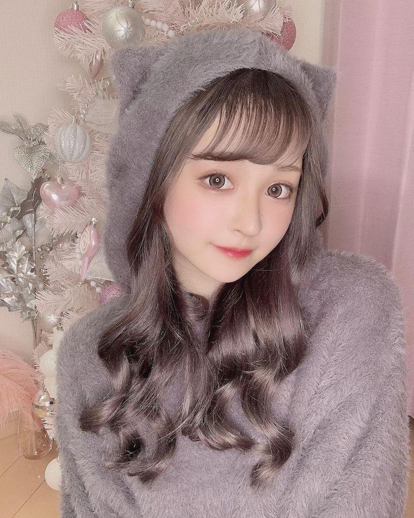 日本樱花妹Bunny可爱的颜值根本就是漫画中的洋娃娃 妹子图 热图3