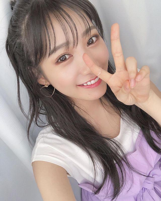 NMB48成员《横野堇》穿衣显瘦脱衣有肉 明星图片 第6张