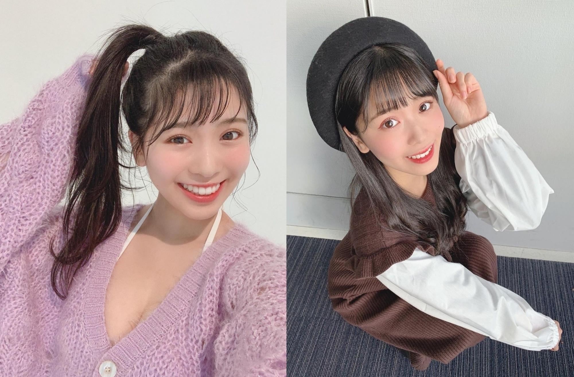 偶像团体NMB48成员「安田桃宁」,奇迹笑颜如阳光般绽放女友视角