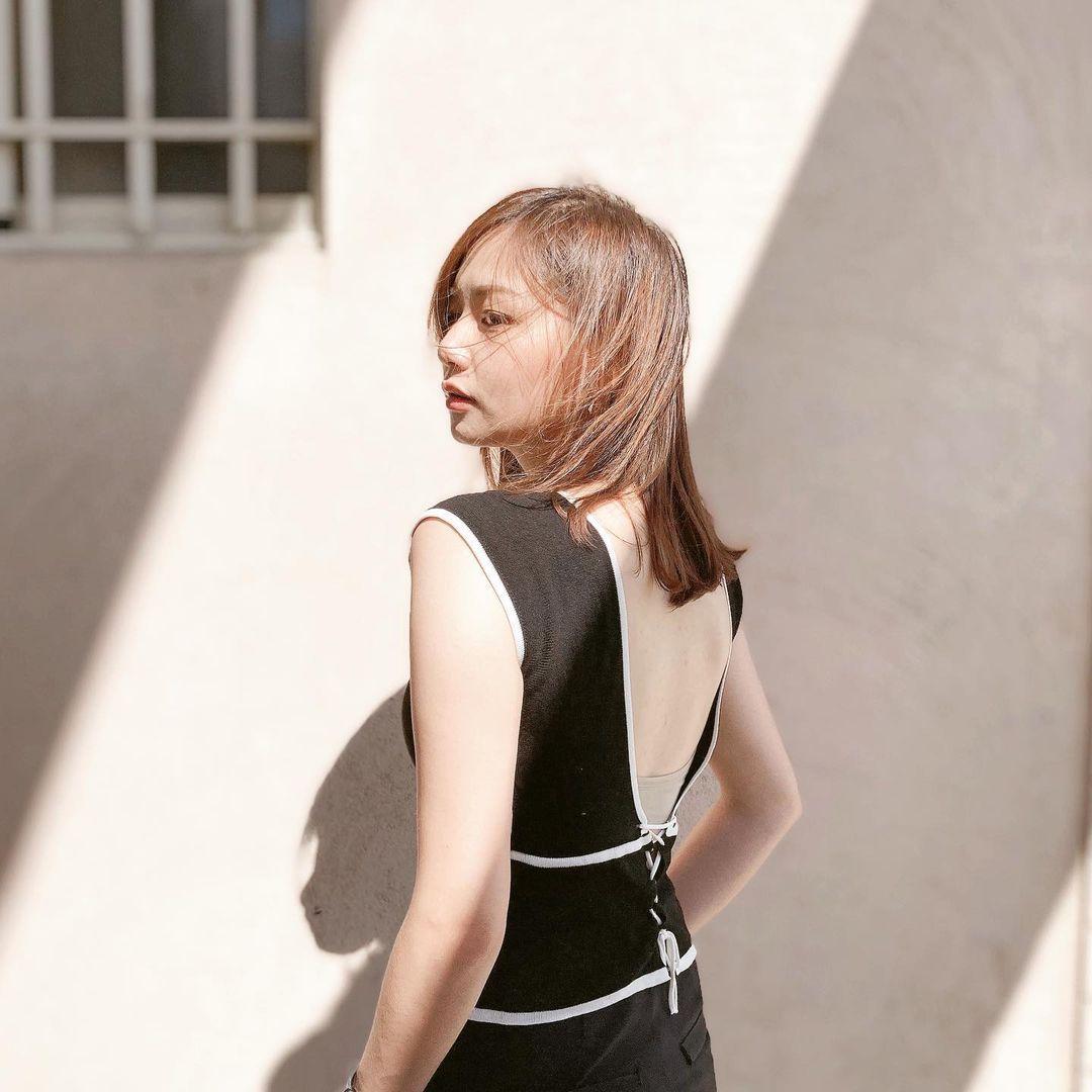 服装设计系正妹讲师「沉靖娟」,甜美脸蛋让人恋爱了-新图包