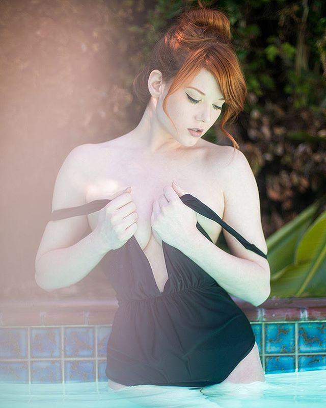 异国风情女模《Amber Rose McConnell》虽然欧派,但白嫩嫩其实很顺眼-新图包