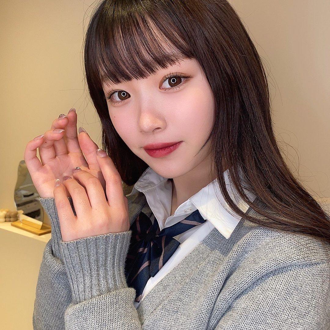 2005 年出生清新美少女平野梦来首度放风吸万粉 网络美女 第5张