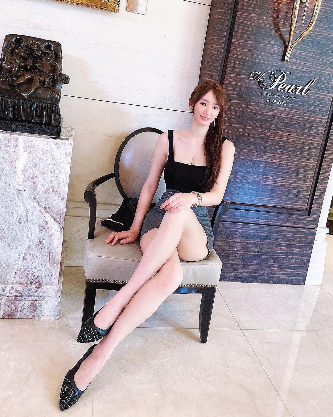 长腿连发173cm窈窕正妹Sansa珊莎美腿好逆天,好辣 网络美女 第5张