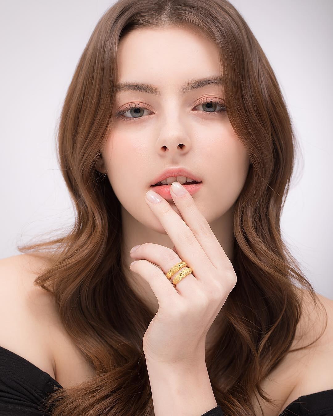 [正妹]完美比例天使脸孔[白俄罗斯女模]内衣广告网友直呼好仙 养眼图片 第11张