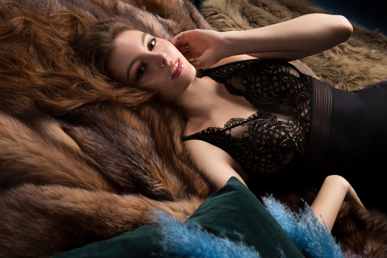[正妹]完美比例天使脸孔[白俄罗斯女模]内衣广告网友直呼好仙 养眼图片 第22张