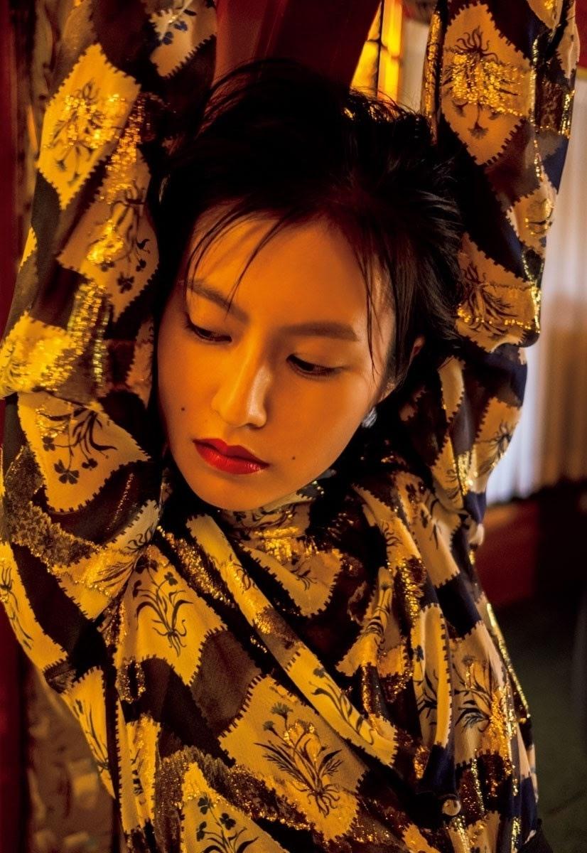 童星出身AV帝王2恒松祐里全luo演出一脱成名复古造型完美诠释昭和性感 养眼图片 第4张