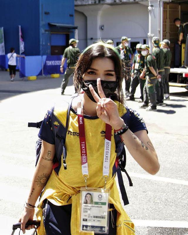 [正妹]射的是穿心箭 东京奥运超正[哥伦比亚女神射箭手]一拉弓就射中网友们的心 养眼图片 第5张