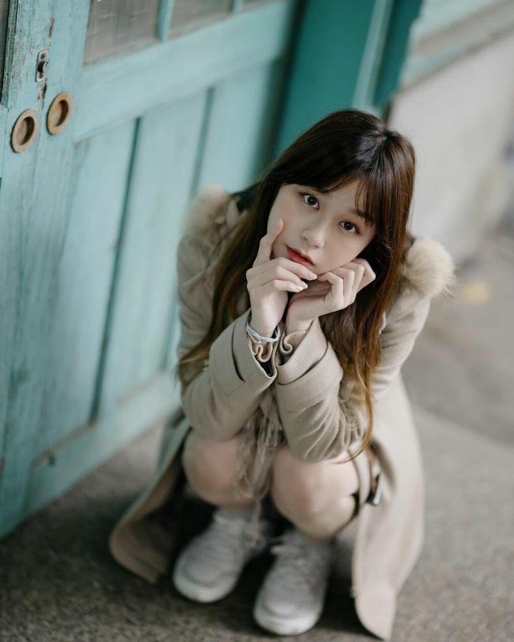 清透嫩白美眉阿耕Yusi满满胶原蛋白的氧气少女(20P) 网络美女 第14张