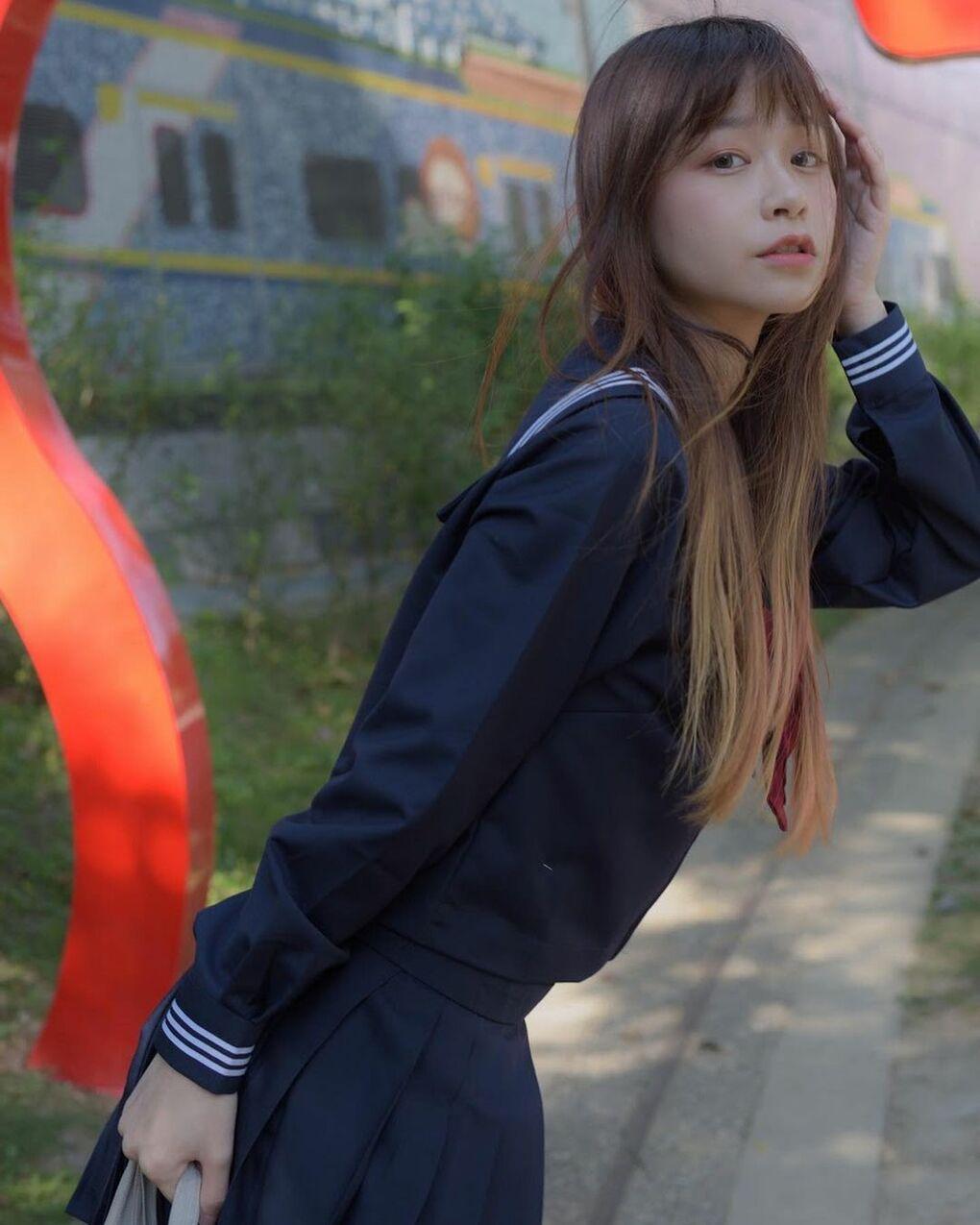 清透嫩白美眉阿耕Yusi满满胶原蛋白的氧气少女(20P) 网络美女 第16张