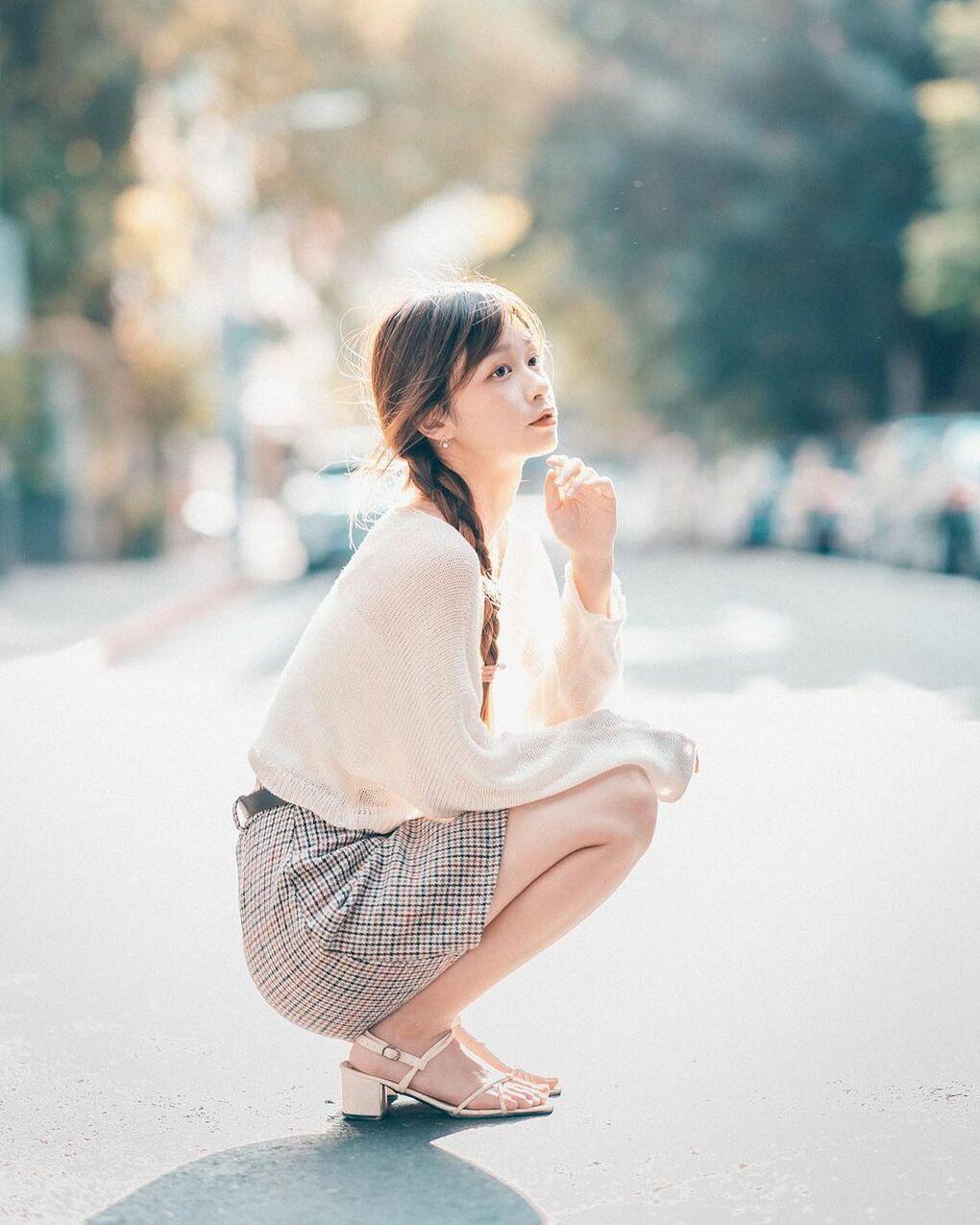 清透嫩白美眉阿耕Yusi满满胶原蛋白的氧气少女(20P) 网络美女 第19张