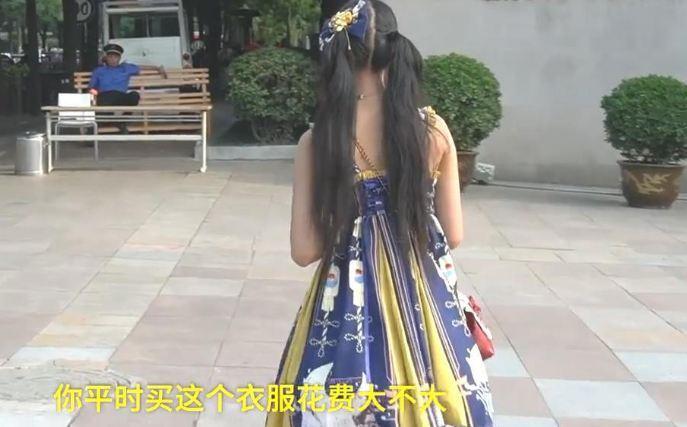 女孩穿Lolita服饰参加高考,疑似上周街头跳果舞LO娘 福利吧 第1张