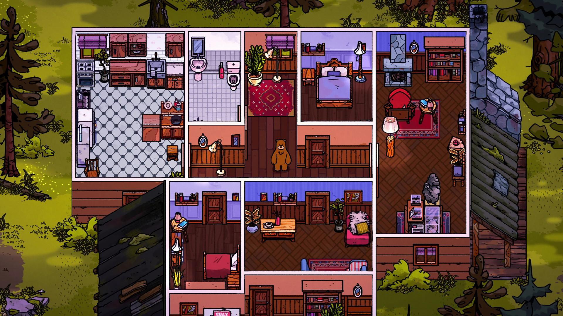 模拟经营游戏《熊与早餐》预计今年内发售 Steam 游戏资讯 第2张