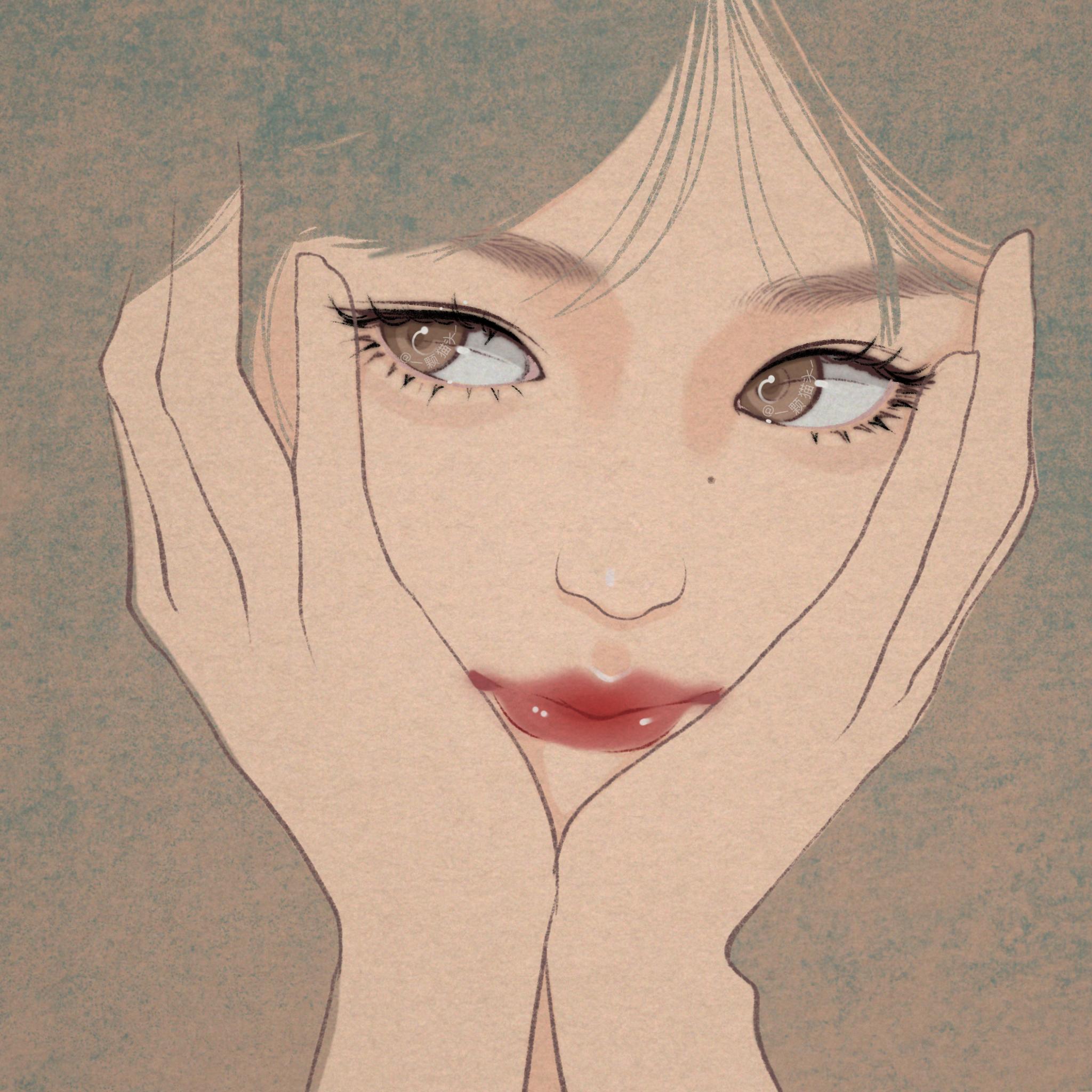 正向阳光晚安心语文字,搭配优美图片插画,发圈太美