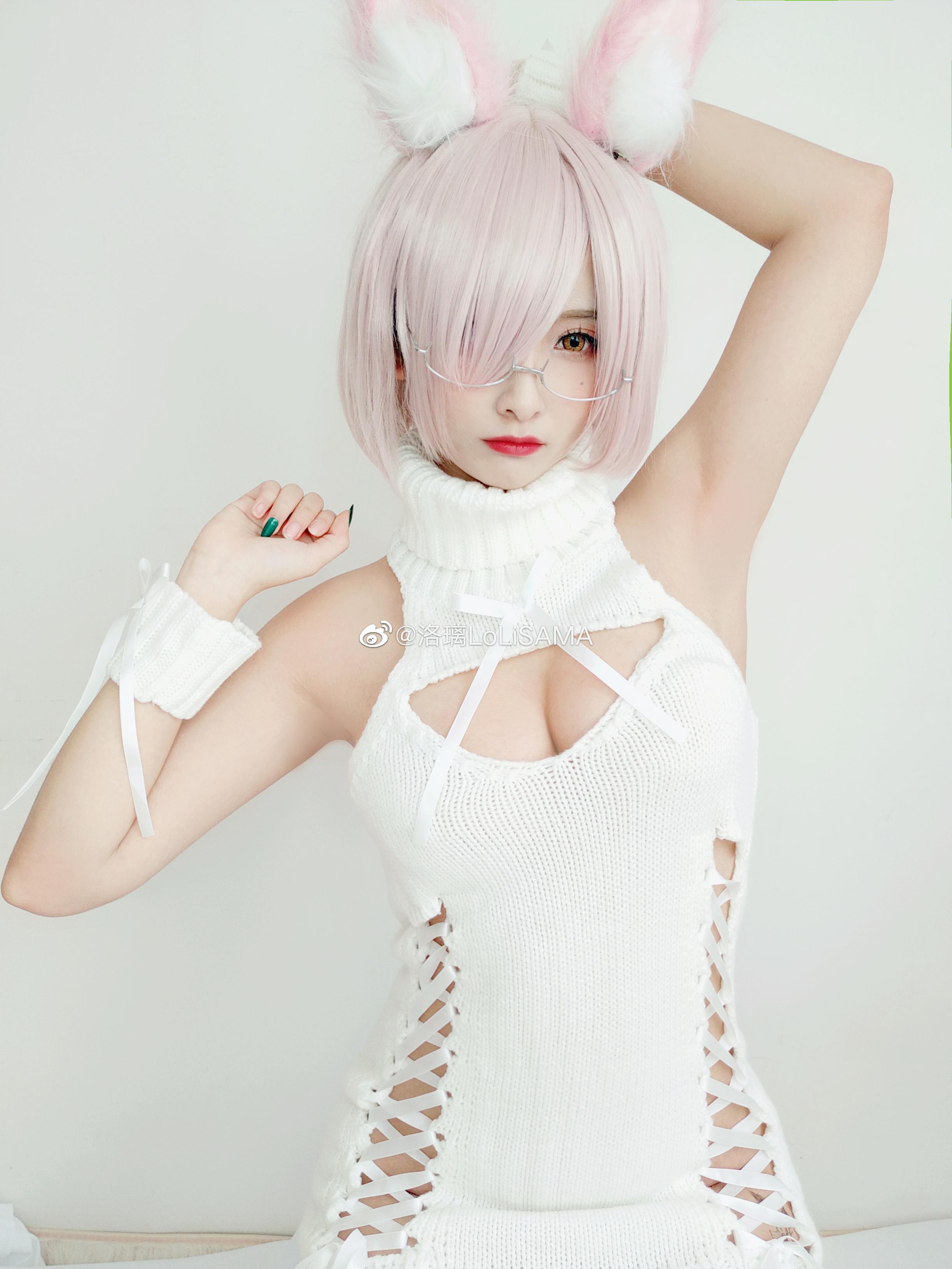 真空白毛衣(9P)