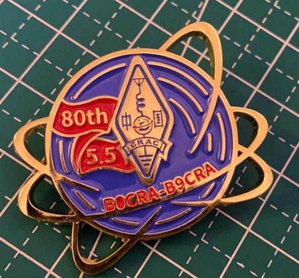 值机员纪念徽章