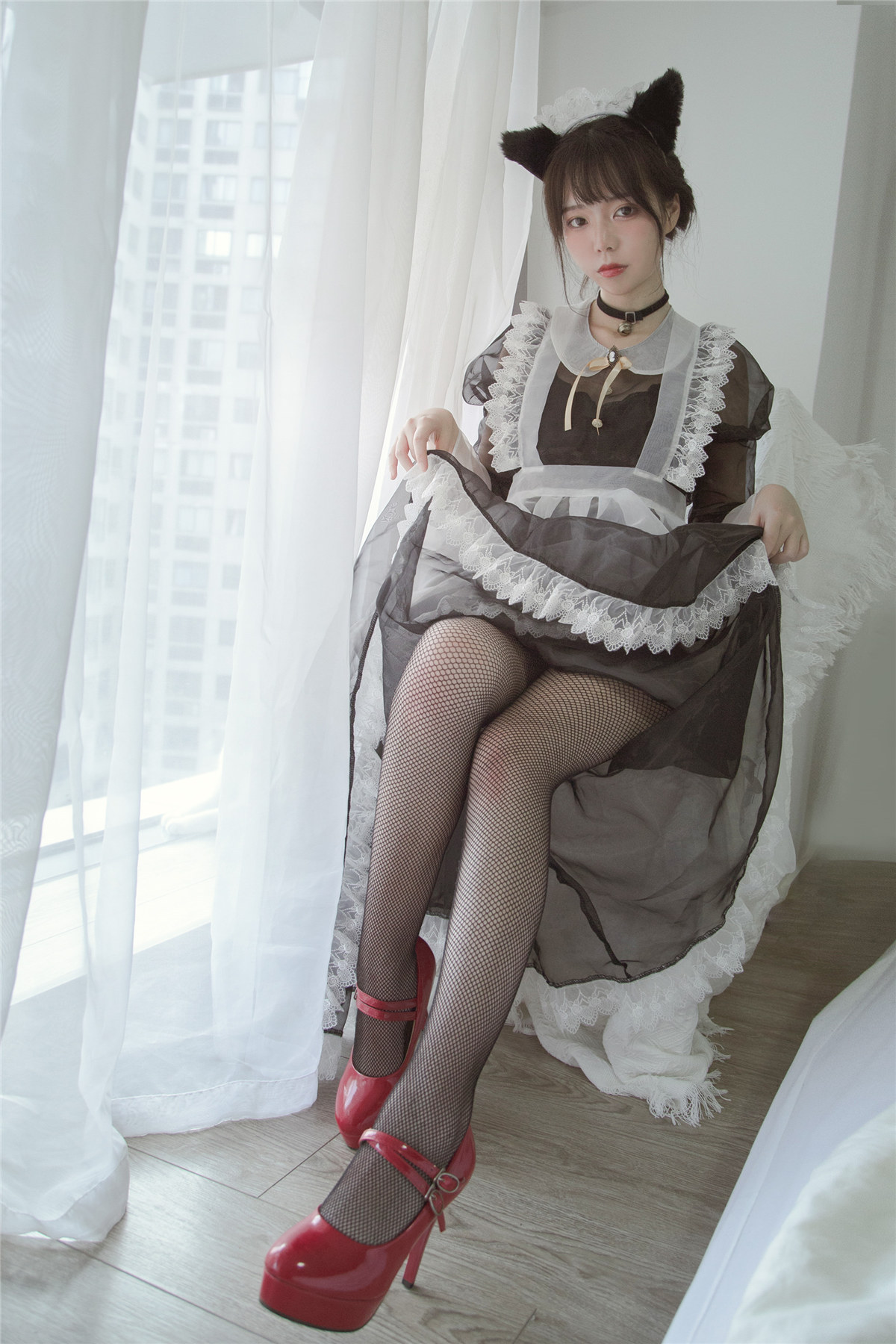 Fushii_海堂 透明女仆COS作品分享