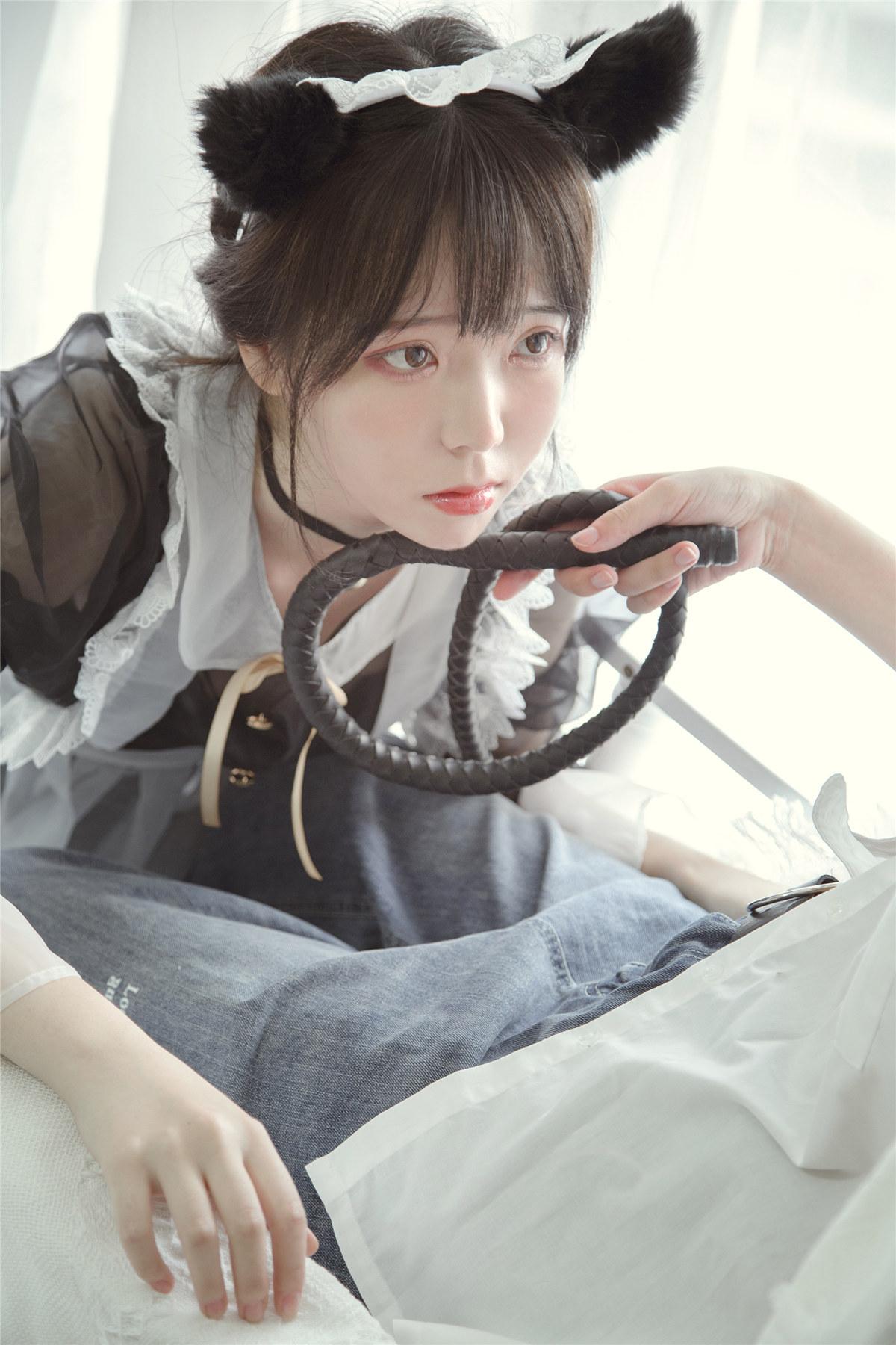 Fushii_海堂 透明女仆COS作品分享-觅爱图