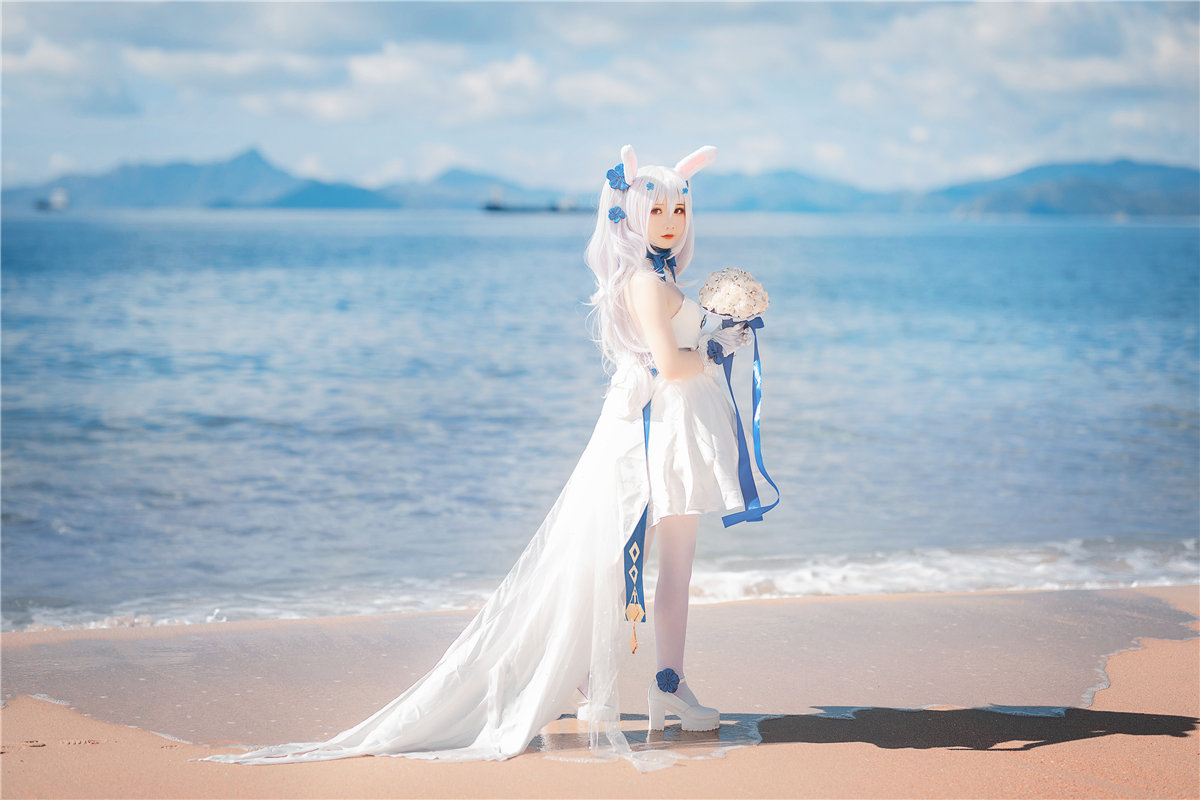 面饼仙儿 拉菲婚纱摄影美图-觅爱图