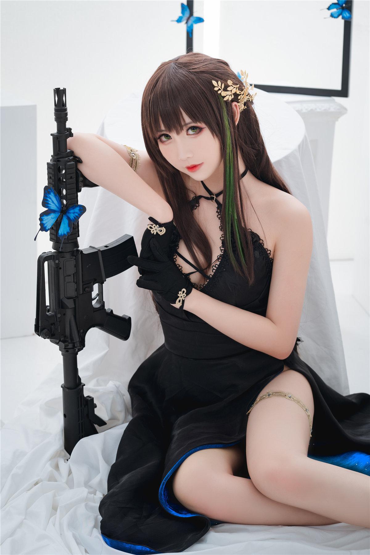 面饼仙儿 少女M4A1主题-觅爱图