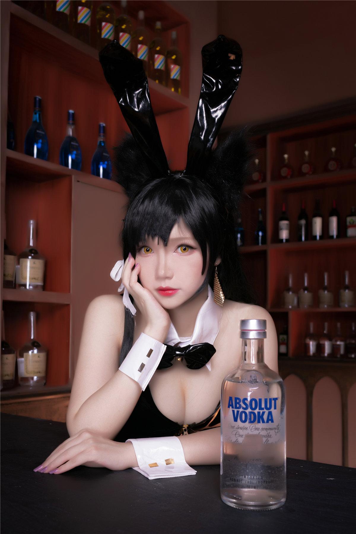雪晴Astra 爱宕兔女郎COS主题在线插图2