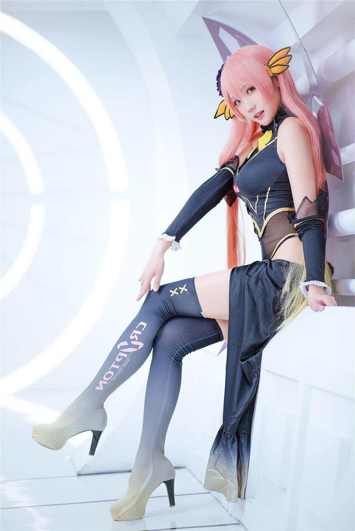 cosplay 瓜希酱_LUKA赛车娘 发现美