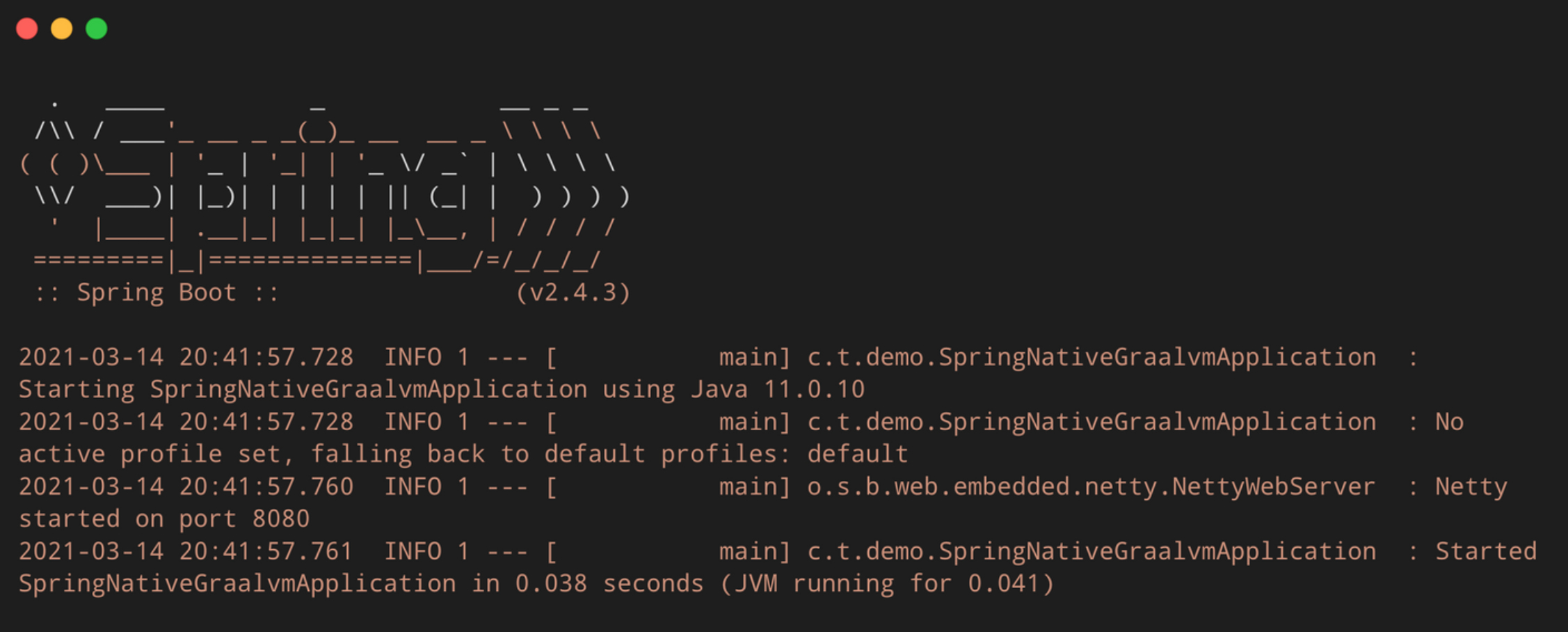 Spring Native:GraalVM native images入门