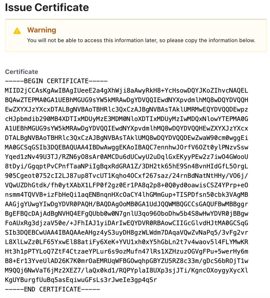 基于Spring WebFlux和Vault PKI的SSL