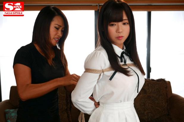 SSNI-425:美少女被绑成肉粽解禁!羽咲美晴作品