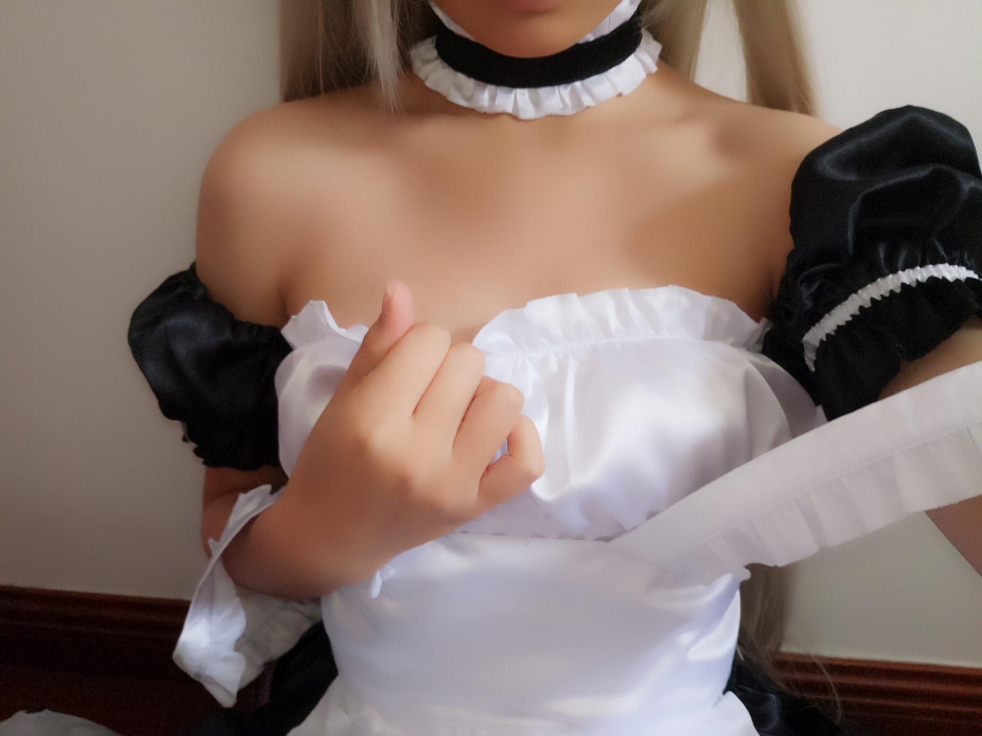 萌妹自拍-女仆装穹妹 制服领域