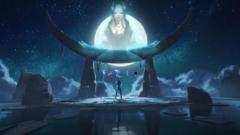 《英雄联盟》公开新英雄亚菲利欧动画宣传影片 使用月之石武器的射手