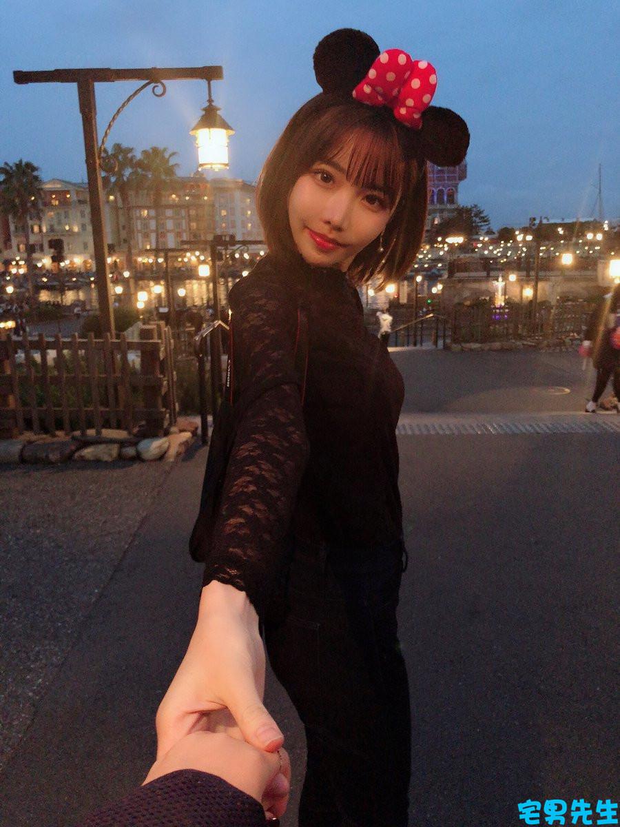 現役美女大學生深田詠美變成了可愛小惡魔 宅男先生 熱圖2