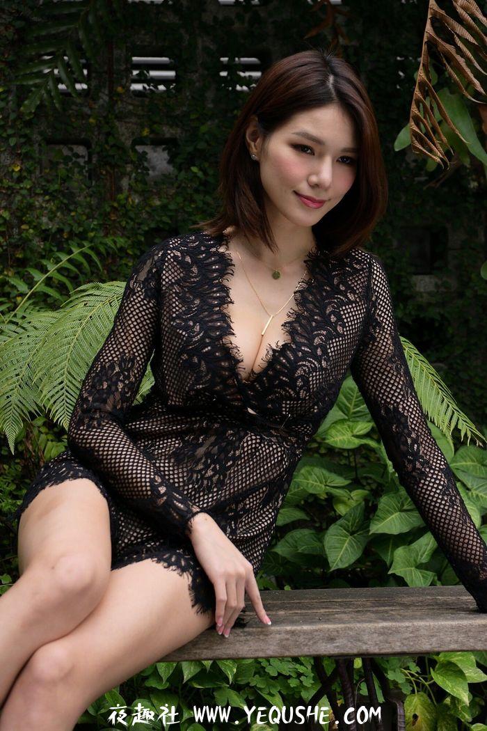 Kate-外拍黑色蕾丝系列(53P)