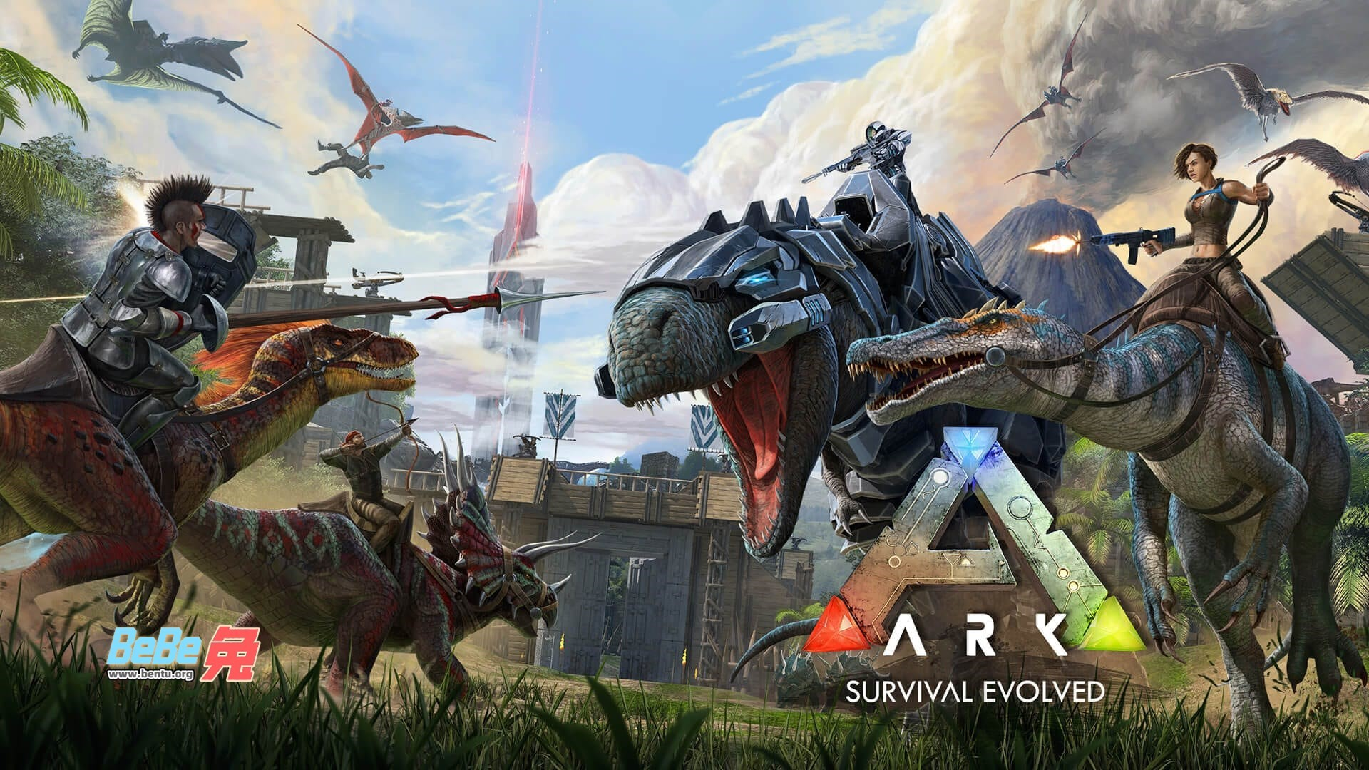 Epic平台不止喜加一,《方舟:生存进化》和《侍魂NeoGeo合集》限时免费领
